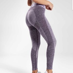 Gymshark Flex Leggings V3 Purple Marl NWT